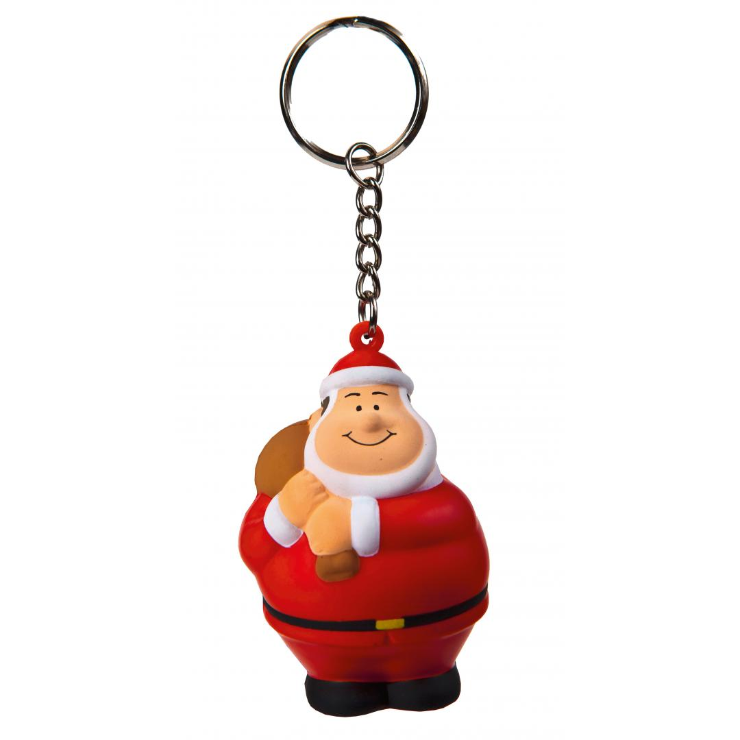 M124367 Multicoloured -  Santa Bert® with keychain - mbw
