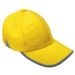 M110255 Yellow - Baseball cap with reflective fabric - mbw