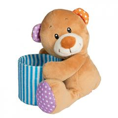 M160687 Multicoloured - Bear pencil-holder - mbw