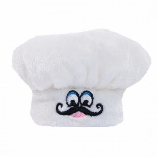 M160487 White - Chef's Hat - mbw