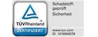 TÜV Rheinland Schadstoffgeprüft 1419064578