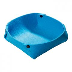 M144188 Blue - Felt basket - mbw
