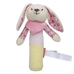 M160474 Multicolour - Greifling Hase mit Quietschfunktion - mbw