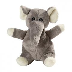 M160383 Grey - Plush elephant Wolle - mbw