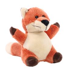 M160346 Red brown - Plush fox Arne - mbw