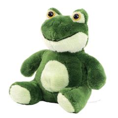 M160381 Light green - Plush frog Hans - mbw