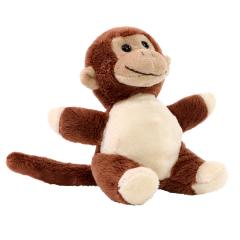 M160343 Brown - Plush monkey Erik - mbw