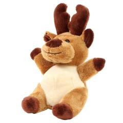M160390 Brown - Plush moose Oke - mbw