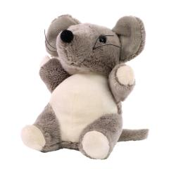 M160347 Grey - Plush mouse Vivien - mbw