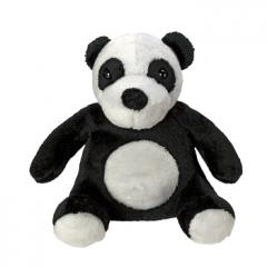 M160267 Black/white - Plush panda Dominik - mbw