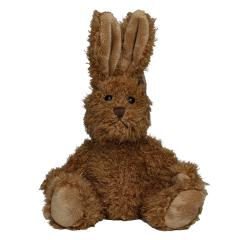M160621 Brown - Plush rabbit Lina - mbw
