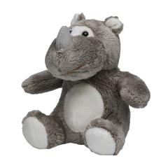 M160263 Grey - Plush rhino Leif - mbw