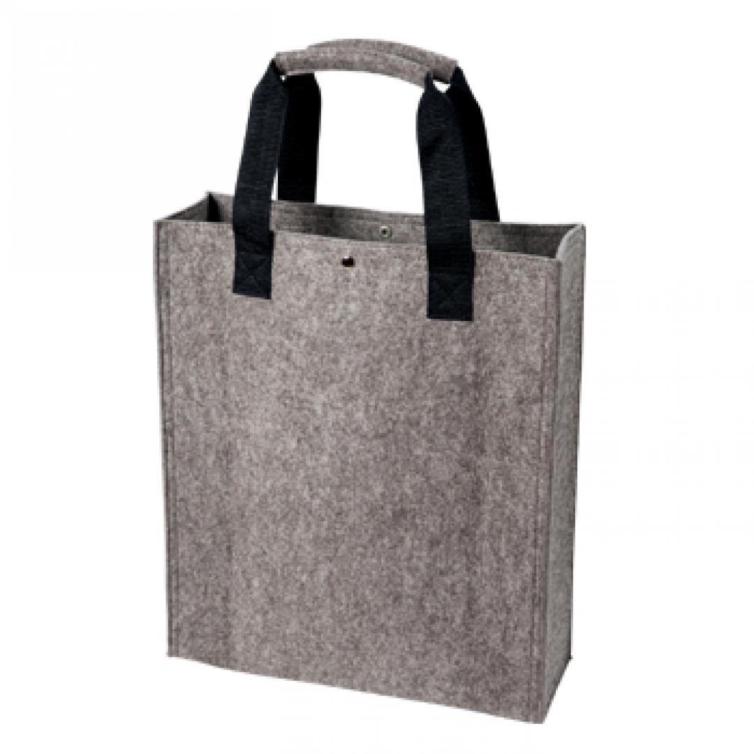 M144184 Anthrazit - Polyesterfilz Shopper - mbw