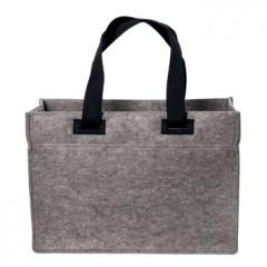 M144185 Anthrazit - Polyesterfilz Shopper pull-out - mbw