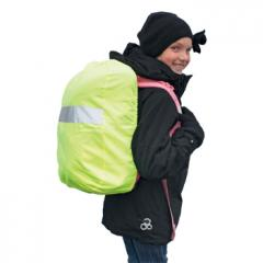 M110427 Lime yellow - Reflective rain protection for backpacks - mbw