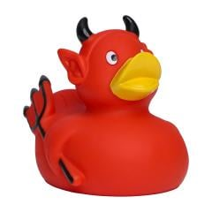 M131037 Red - Rubber duck, devil - mbw
