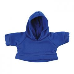 M140300 Blue - Shirt with a hood - mbw