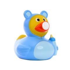 M131138 Light blue - Squeaky duck baby - mbw
