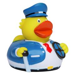 M131088 Multicoloured - Squeaky duck bus driver - mbw