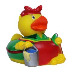 M131206 Multicoloured - Squeaky duck cleaning lady - mbw