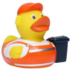 M131260 Multicoloured - Squeaky duck garbage man - mbw