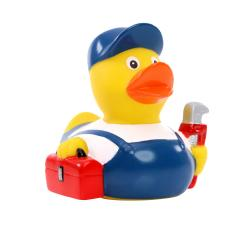 M131244 Multicoloured - Squeaky duck plumber - mbw