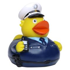M131125 Multicoloured - Squeaky duck policeman - mbw