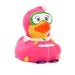 M131091 Multicoloured - Squeaky duck skier - mbw
