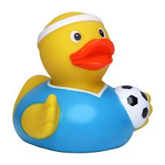 M131083 Multicoloured - Squeaky duck soccer player - mbw