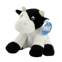 M160082 Black/white - Zoo animal cow Clara - mbw