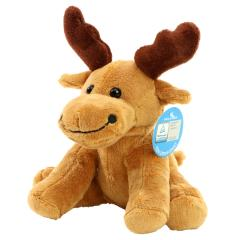 M160034 Brown - Zoo animal moose Emil - mbw
